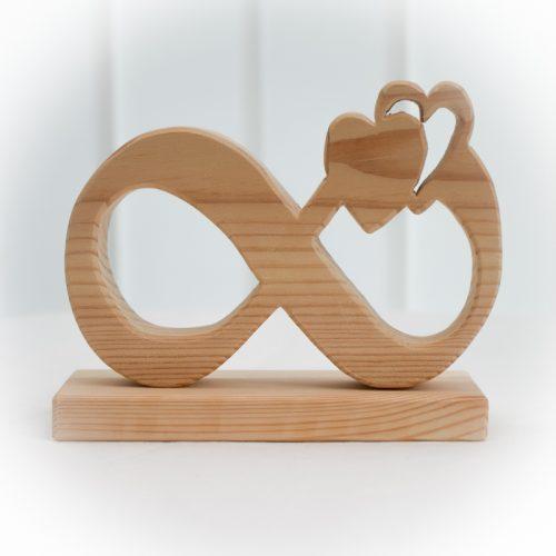 Omega Symbol aus Holz