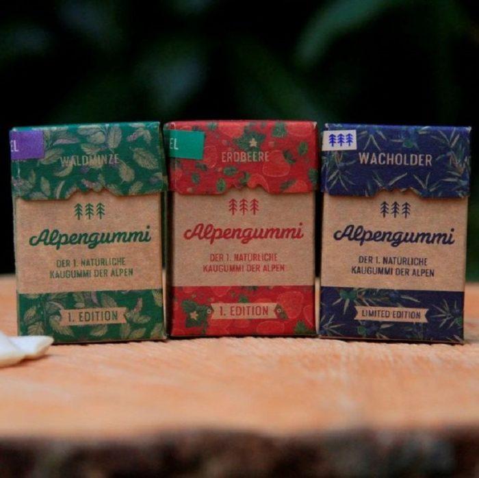 Alpengummi - natürlicher Kaugummi